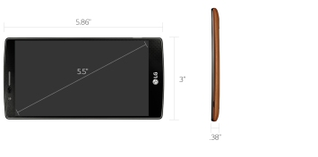 LG G4 3/32GB Leather - Brown